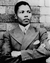 Mandela de joven