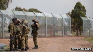 Israel y Siria han mantenido un fuego cruzado en su frontera