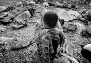 Víctimas del genocidio ruandés (AP)