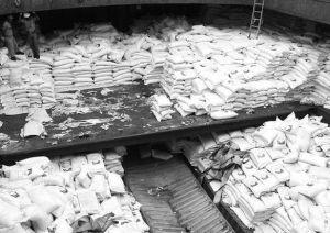 El depósito donde se escondían las armas cubanas con destino a Corea del Norte