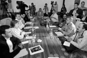 Mesa de negociación en La Habana