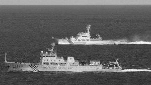 Barcos chinos patrullan las costas de las islas Senkaku