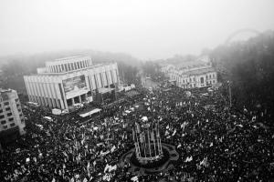 manifestación Kiev. afp