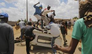 Protestas Sudáfrica
