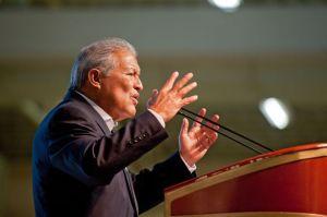 Salvador Sánchez Cerén, candidato del FMLN