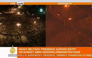 La información sobre Egipto ofrecida por Al Jazeera contrasta notablemente con la de la televisión gubernamental egipcia / Flickr