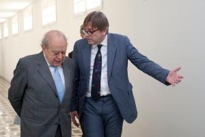 Jordi Pujol y Guy Verhofstadt / Convergència Democràtica de Catalunya