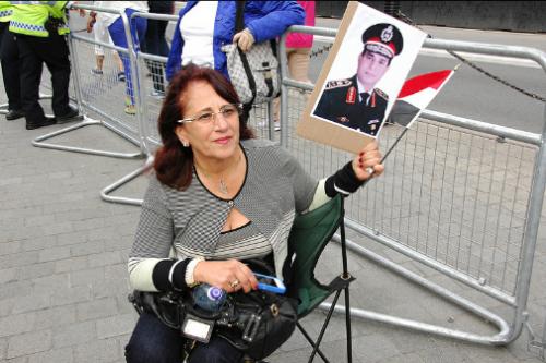 Londres acogió una protesta de apoyo al golpista Al Sisi el pasado agosto / Snapperjack - Flickr