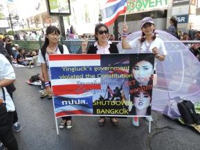 Seis meses de protestas contra el gobierno tailandés precedieron al golpe de estado / Flickr