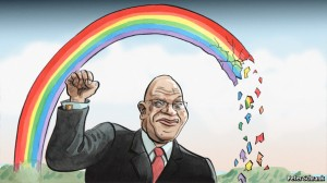 Ilustración de Peter Schrank - The Economist