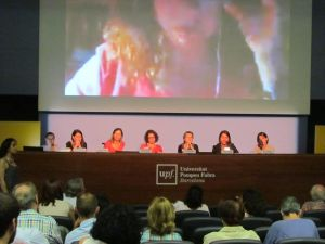 "Debate ""Mujeres i Periodismo"", conexión con Mònica Bernabé desde Kabul."