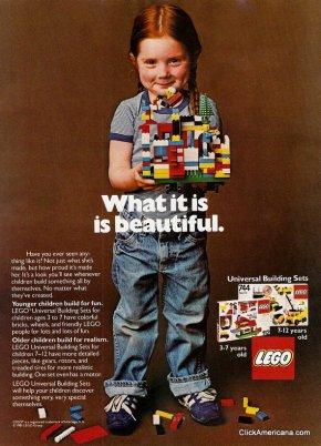 Anuncio de Lego en 1981