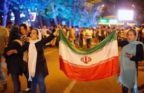 Irán celebra el acuerdo nuclear / Abedin Taherkenareh (EFE)
