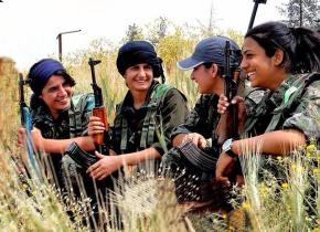 El papel de las mujeres kurdas en Kobane fue fundamental para combatir al Daesh / FLICKR