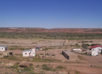 Aldea El Mirasol. Fuente: Gobernación de Chubut