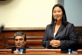Keiko Fujimori, candidata del partido Fuerza Popular
