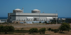 Koeberg.Única central nuclear en África