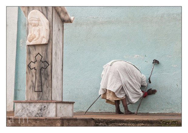 Women in Coptic Church Asmara/ Flickr Andrea Moroni