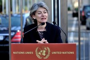 La búlgara Irina Bokova, Directora General de la UNESCO, era una de las candidatas a liderar la secretaría general de la ONU, pero finalmente el puesto recayó en el portugués António Guterres, ex alto comisario de ACNUR / Jean-Marc Ferré, Naciones Unidas