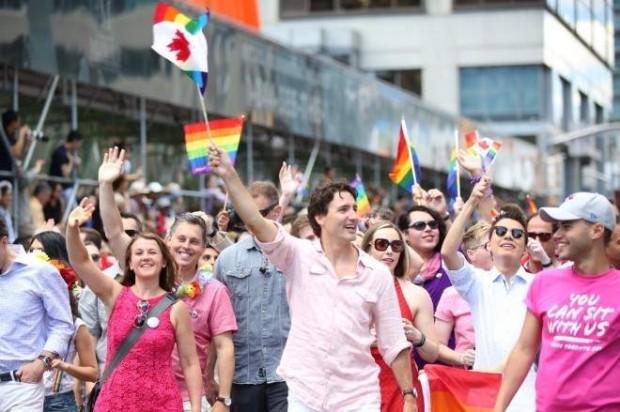Trudeau orgullo gay