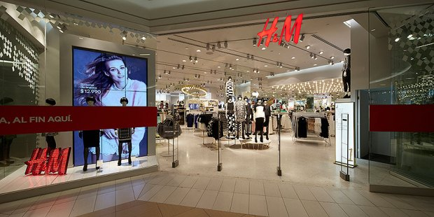 Tienda de H&M en CHile