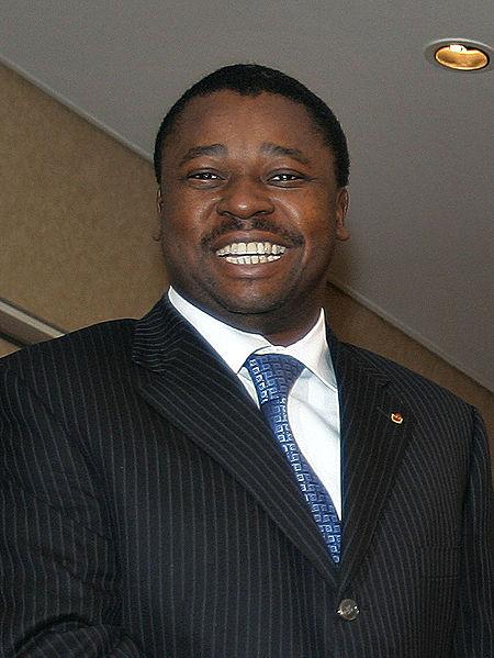 Faure Gnassingbé, presidente de Togo